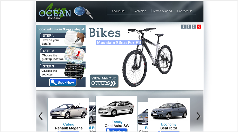 Luz Ocean Club Website - Restructure