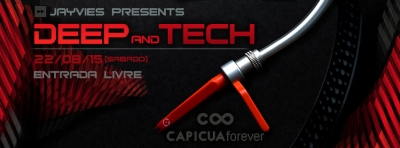Capicua Forever Event Flyer