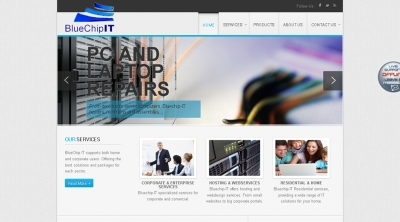 Bluechip-IT Website